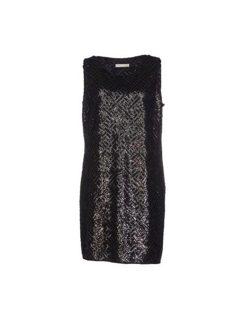 Stefanel | Женское Чёрное Короткое Платье