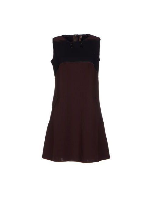 High Tech   Женское Баклажанное Короткое Платье