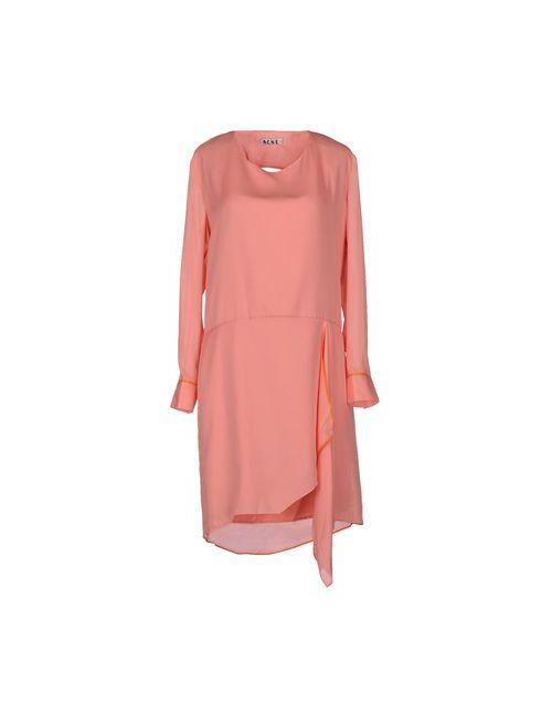 Acne Studios | Женское Розовое Короткое Платье