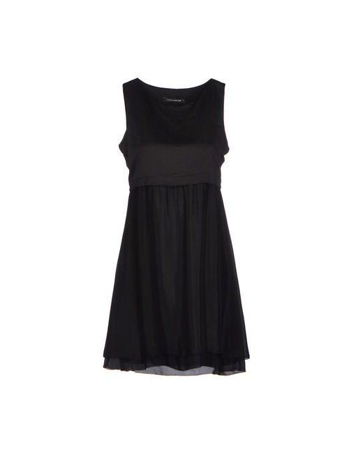 European Culture | Женское Чёрное Короткое Платье