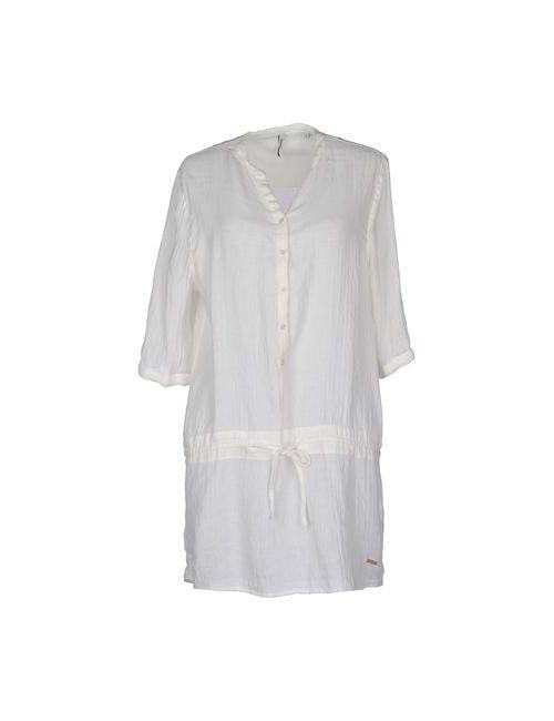 Woolrich | Женское Белое Короткое Платье