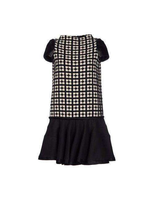 6267 | Женское Черный Короткое Платье
