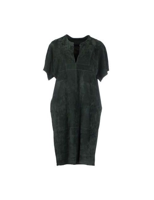 Joseph | Женское Зелёное Короткое Платье