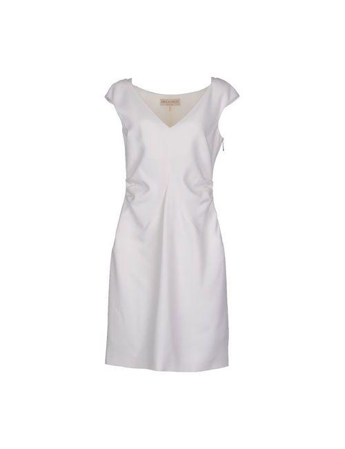 Emilio Pucci | Женское Белое Короткое Платье