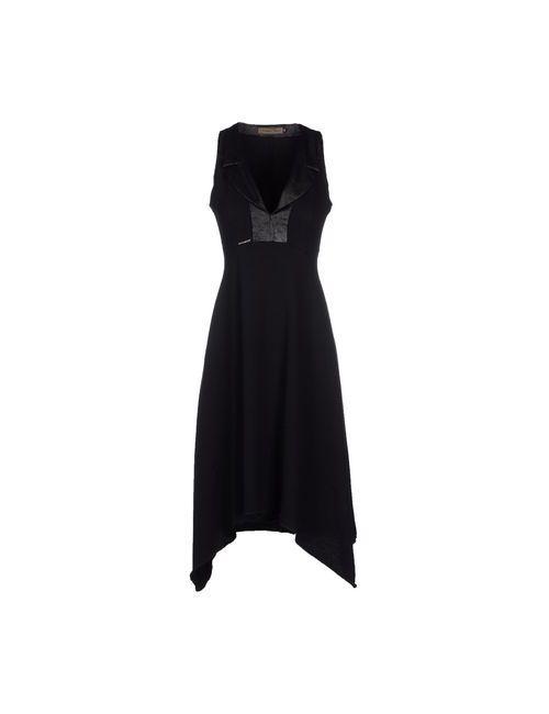 Mariagrazia Panizzi | Женское Чёрное Платье До Колена