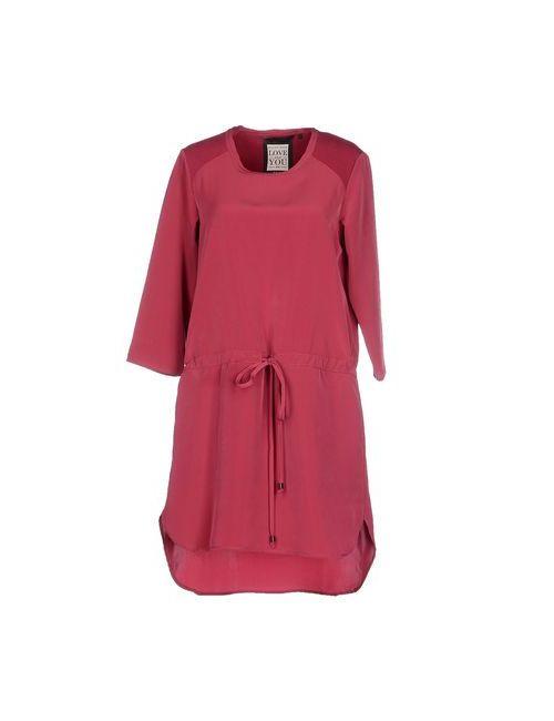 Silvian Heach | Женское Фиолетовое Короткое Платье