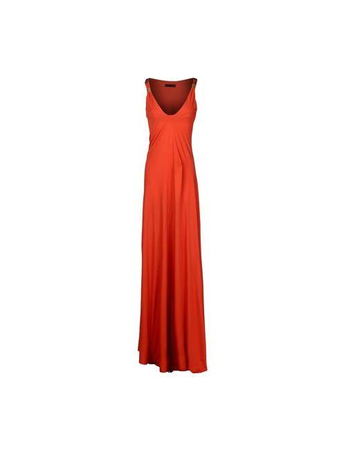 Plein Sud | Женское Коричневое Длинное Платье