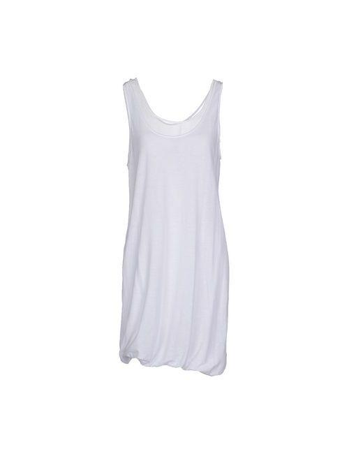 Dries Van Noten   Женское Белое Короткое Платье