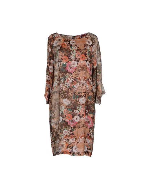 View | Женское Оранжевое Короткое Платье