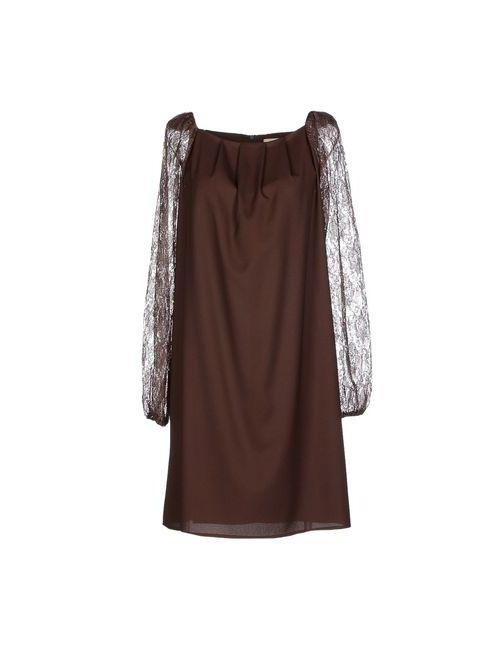 Lou Lou London | Женское Какао Короткое Платье