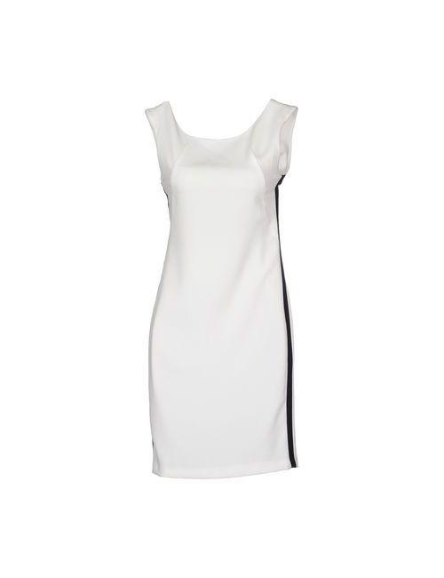 Please | Женское Белое Короткое Платье