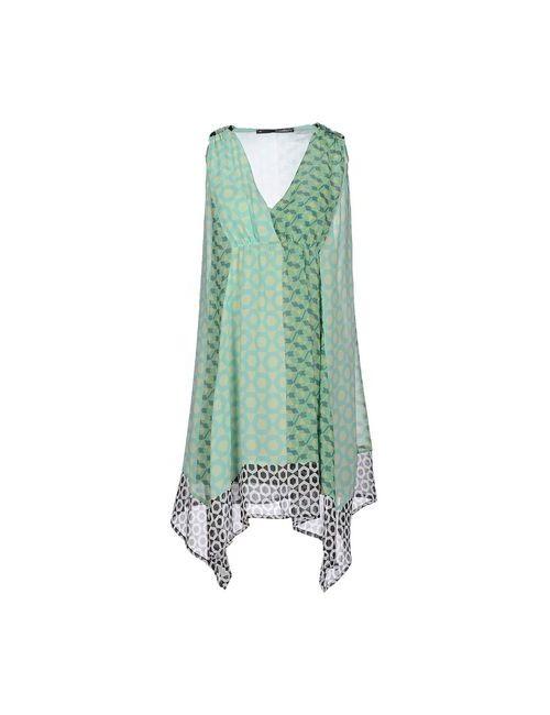 Annarita N. | Женское Зелёное Короткое Платье