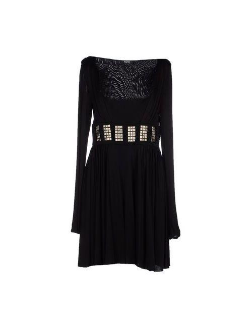 Versace Jeans Couture | Женское Чёрное Короткое Платье