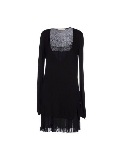 Annarita N. | Женское Чёрное Платье До Колена