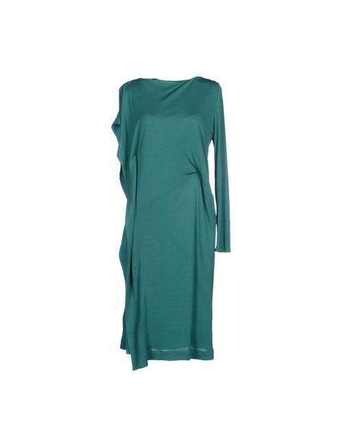 Vionnet | Женское Зелёное Платье До Колена