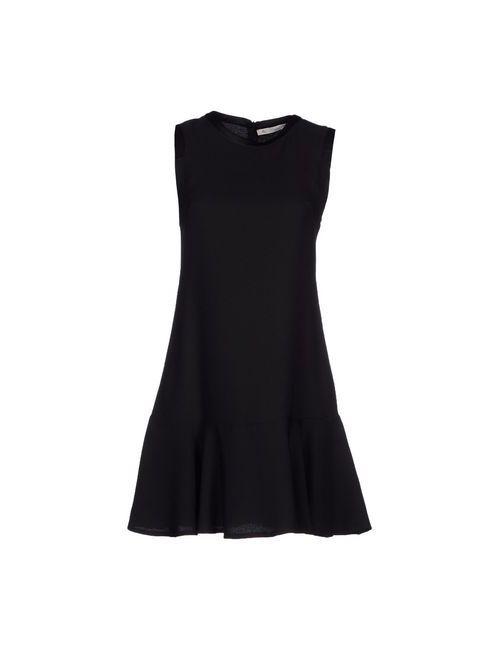 Jey Cole Man | Женское Чёрное Короткое Платье