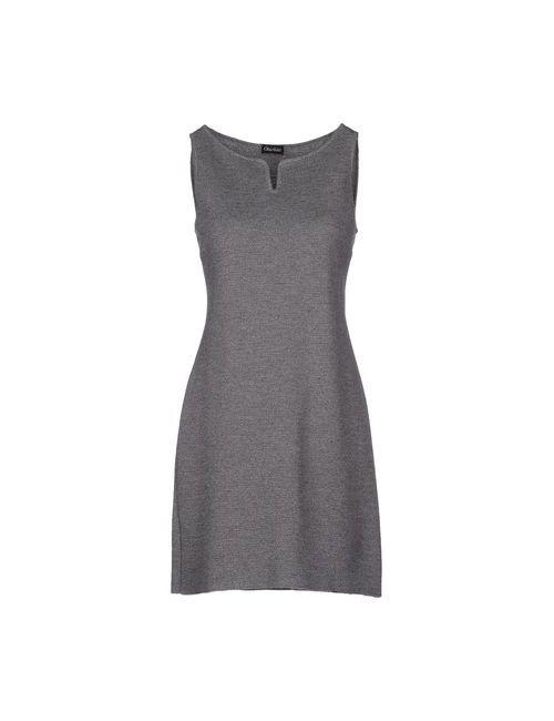 Charlott | Женское Серое Короткое Платье