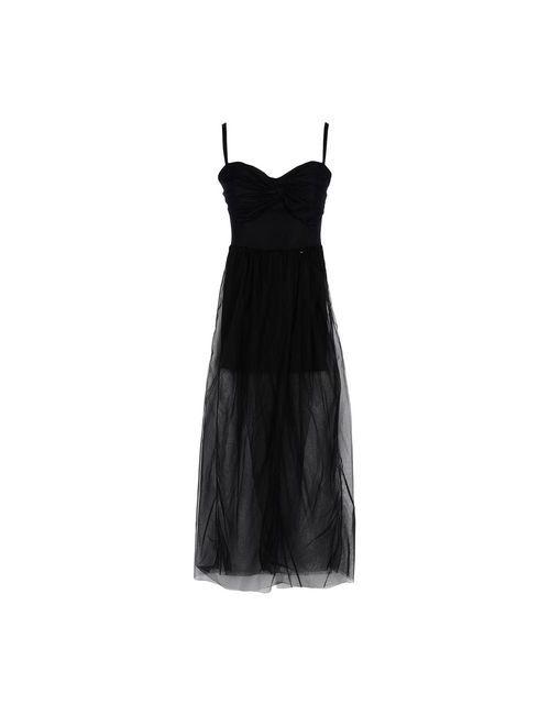 Mangano | Женское Черный Длинное Платье