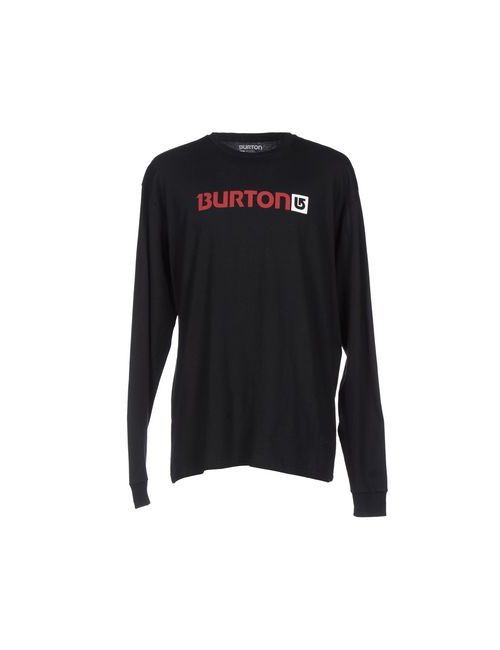 Burton | Мужская Чёрная Футболка
