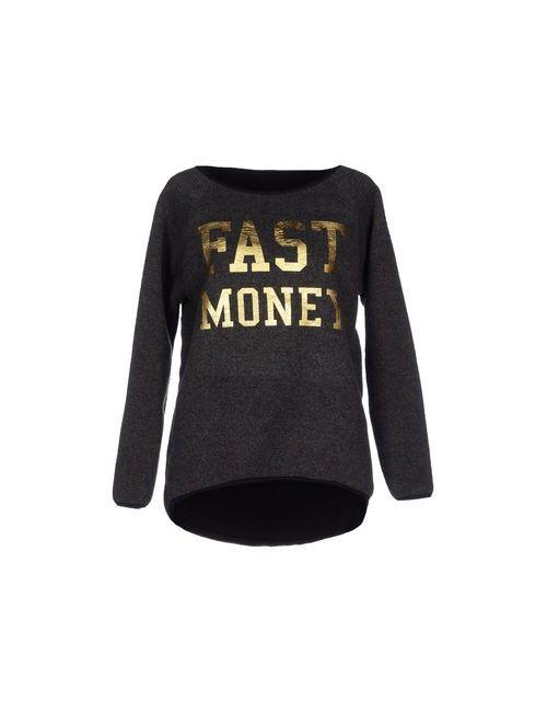Fast Money | Женская Серая Толстовка