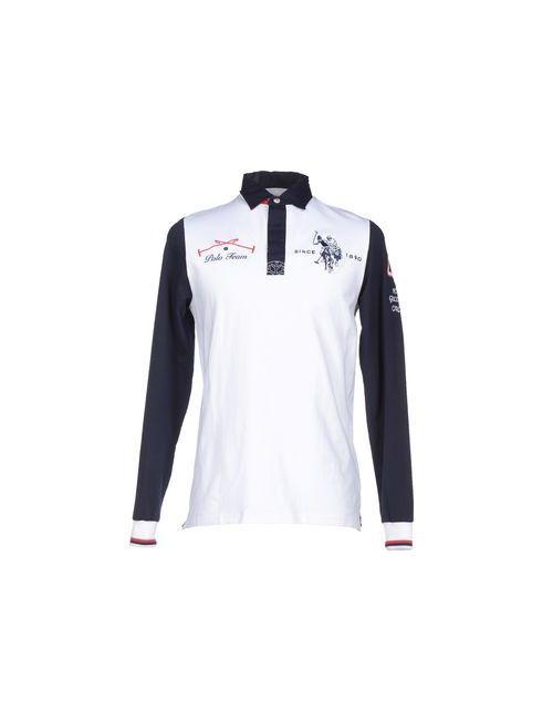 U.S. Polo Assn. | Мужское Белое Поло