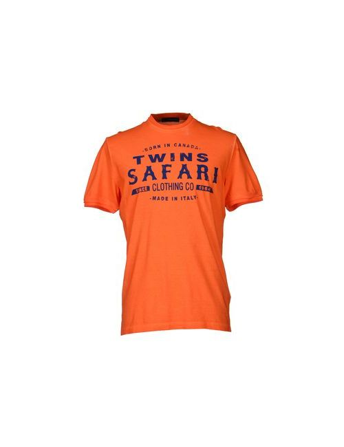 Dsquared2   Мужская Оранжевая Футболка