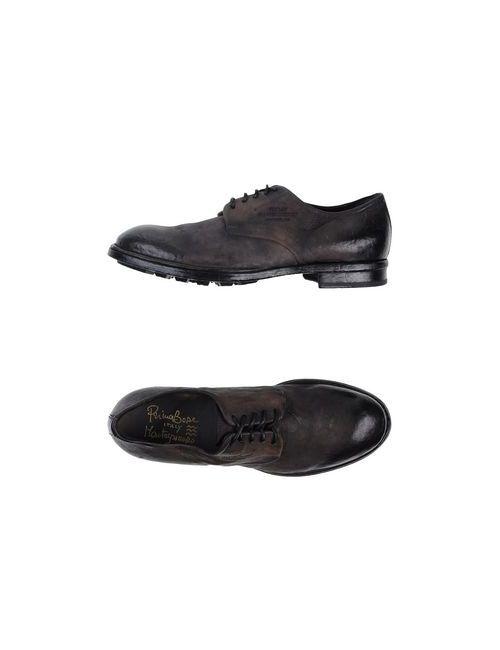 Primabase | Мужская Серая Обувь На Шнурках