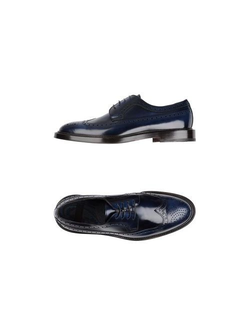 Raparo | Мужская Синяя Обувь На Шнурках