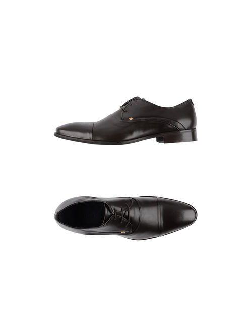 Rochas | Мужская Черный Обувь На Шнурках