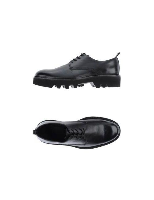 Sartori Gold   Мужская Чёрная Обувь На Шнурках