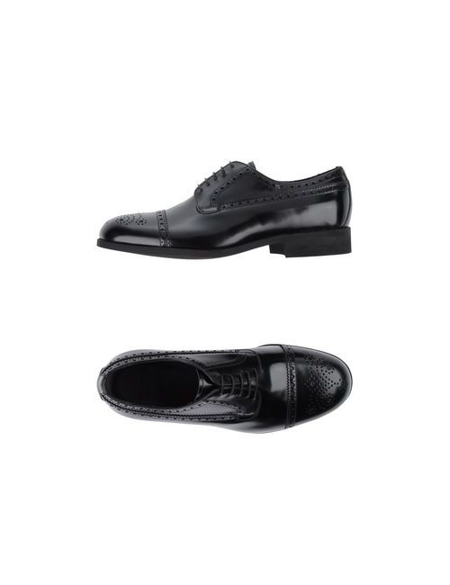 Raparo | Мужская Чёрная Обувь На Шнурках