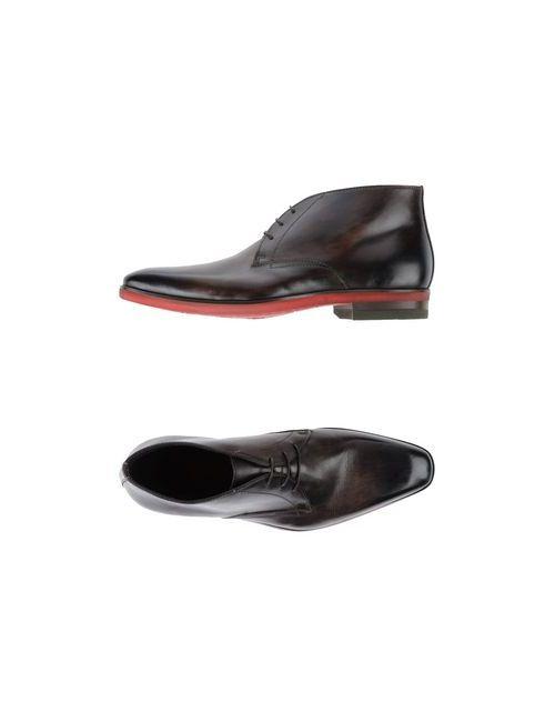 GIORGIO 1958   Мужская Коричневая Обувь На Шнурках