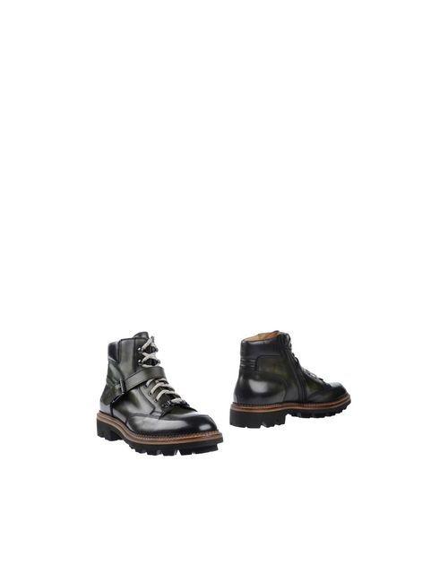 Doucal's | Мужские Зелёные Полусапоги И Высокие Ботинки