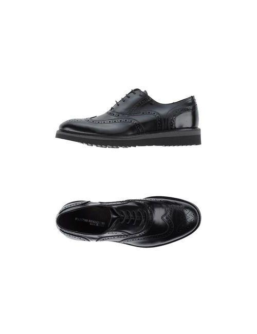 Massimo Benegiamo | Мужская Черный Обувь На Шнурках