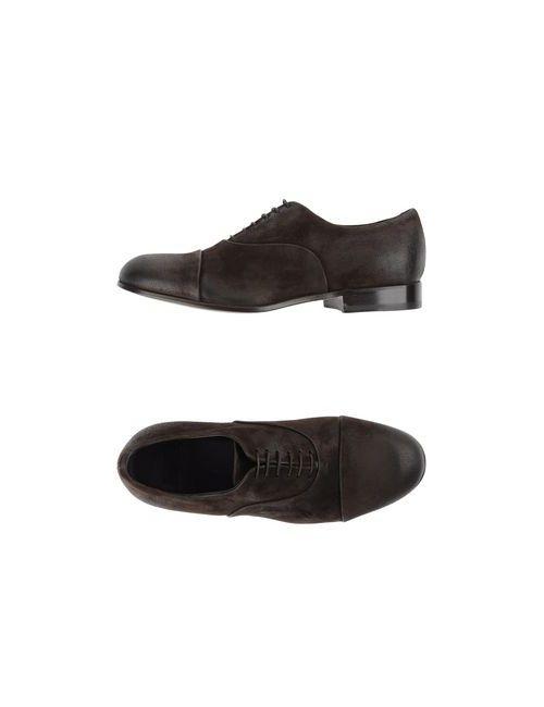 Raparo | Мужская Коричневая Обувь На Шнурках