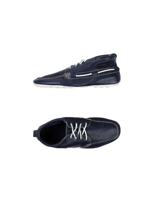 Swamp | Мужская Синяя Обувь На Шнурках