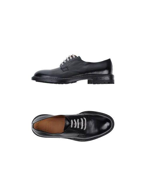 Doucal's | Мужская Чёрная Обувь На Шнурках