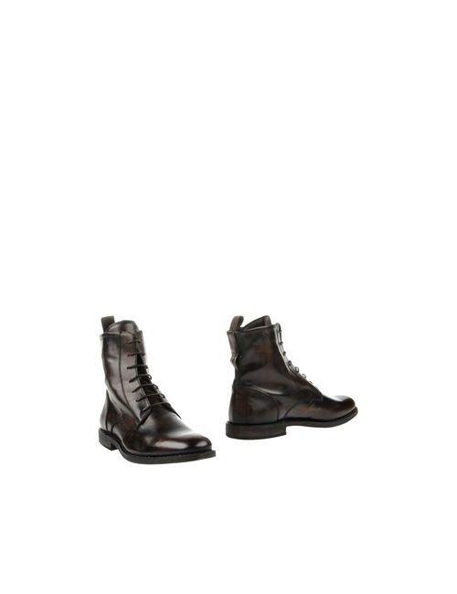 Pantofola d'Oro   Мужские Коричневые Полусапоги И Высокие Ботинки