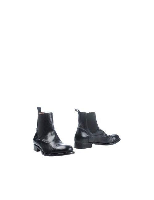 Pantanetti   Мужские Чёрные Полусапоги И Высокие Ботинки