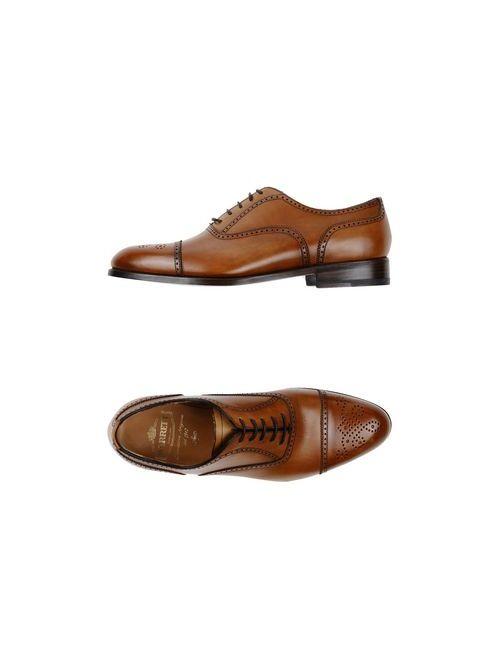 Barrett   Мужская Коричневая Обувь На Шнурках