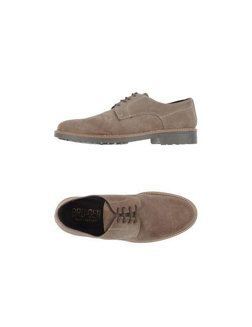 BRU-GER | Мужская Хаки Обувь На Шнурках