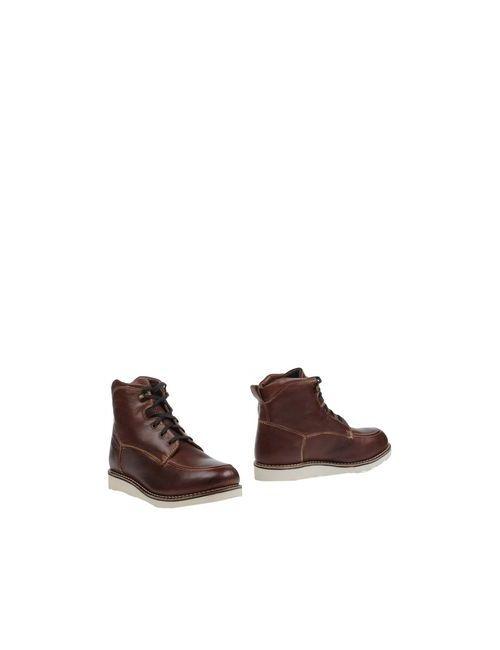 Gaudi' Shoes | Мужские Какао Полусапоги И Высокие Ботинки