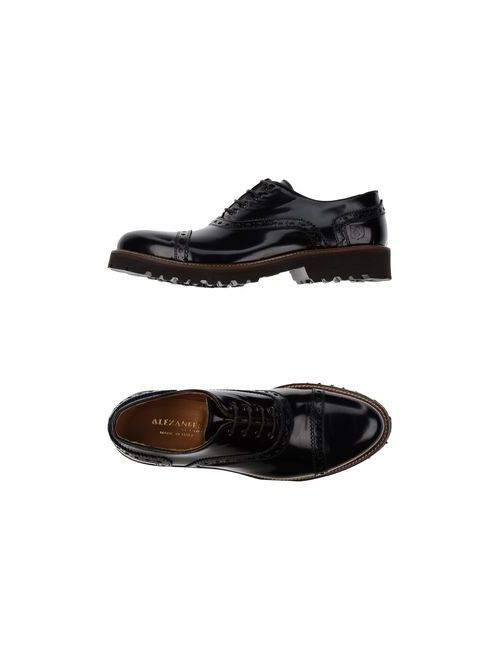 Alexander Trend | Мужская Чёрная Обувь На Шнурках