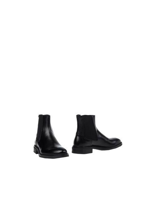 Thompson | Мужские Чёрные Полусапоги И Высокие Ботинки