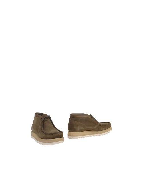 Sebago | Мужские Зелёные Полусапоги И Высокие Ботинки
