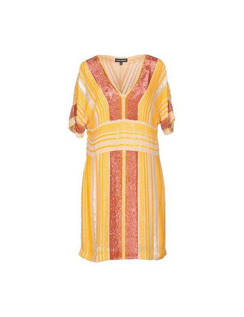 Antik Batik | Женское Оранжевое Короткое Платье