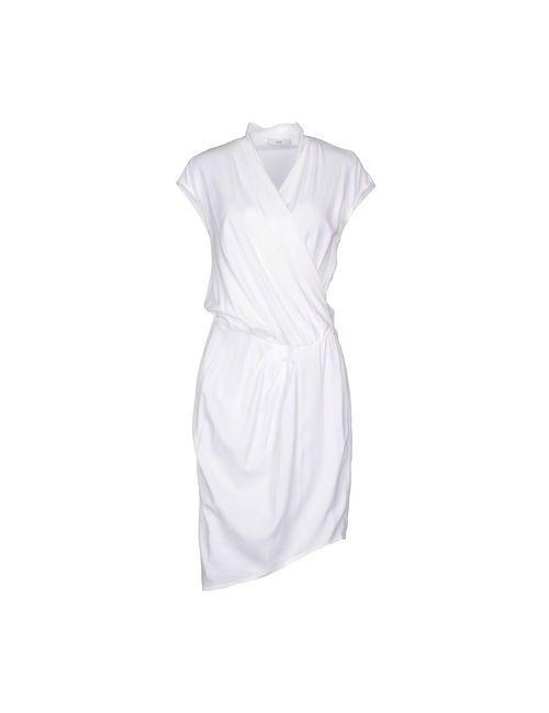 Clió | Женское Белое Короткое Платье