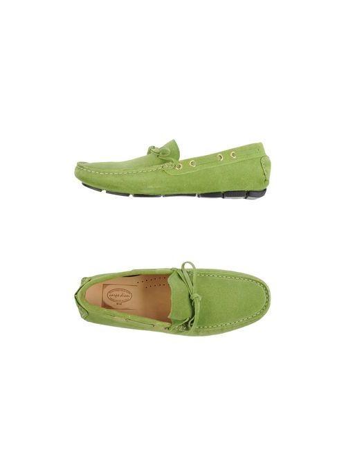 Carpe Diem | Мужские Зелёные Мокасины