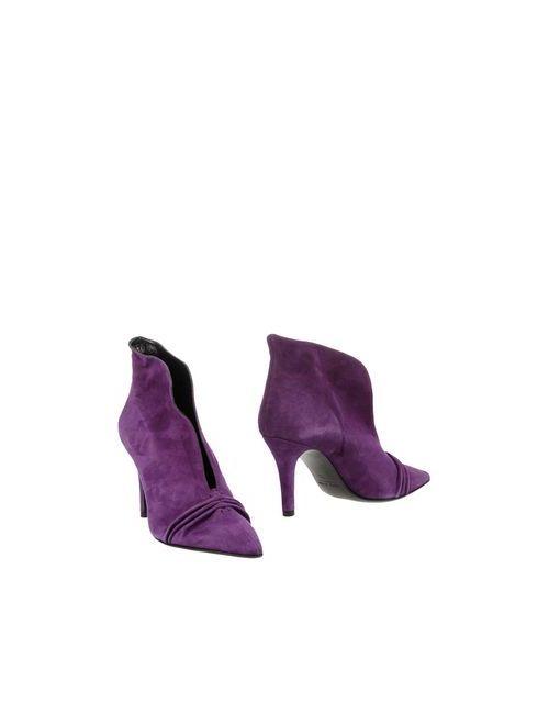 Enrico Lugani | Женские Фиолетовые Полусапоги И Высокие Ботинки