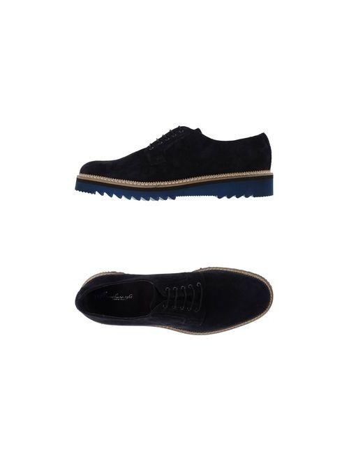 Marechiaro 1962   Мужская Синяя Обувь На Шнурках